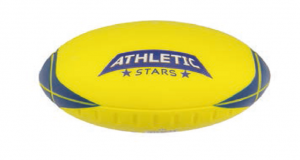BALLON FOOT US ATHLETIC STARS ROCKET JAUNE T2