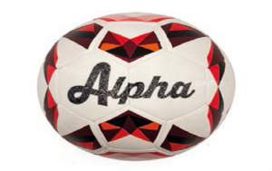 BALLON FOOTBALL DUARIG ALPHA ROUGE T5