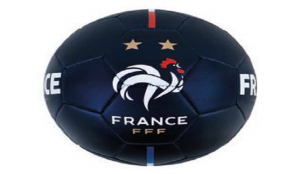 BALLON FOOTBALL FFF NAVY T5