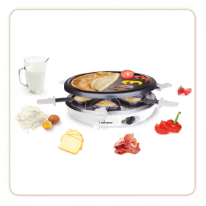 LB TRIO RACLETTE GRILL CREPES ref 8317
