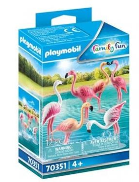 70351 GROUPE DE FLAMANTS ROSES
