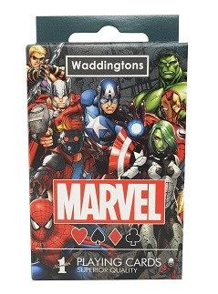 JEU 54 CARTES MARVEL UNIVERS