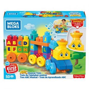 Mega Bloks - Train de L'alphabet musical